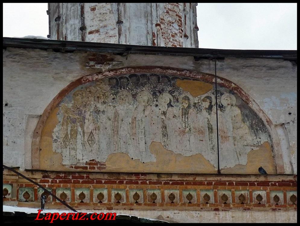 другая фреска Знаменского монастыря