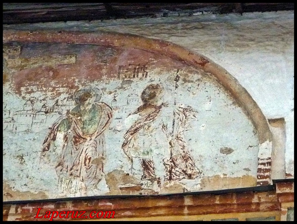 фреска Знаменского монастыря