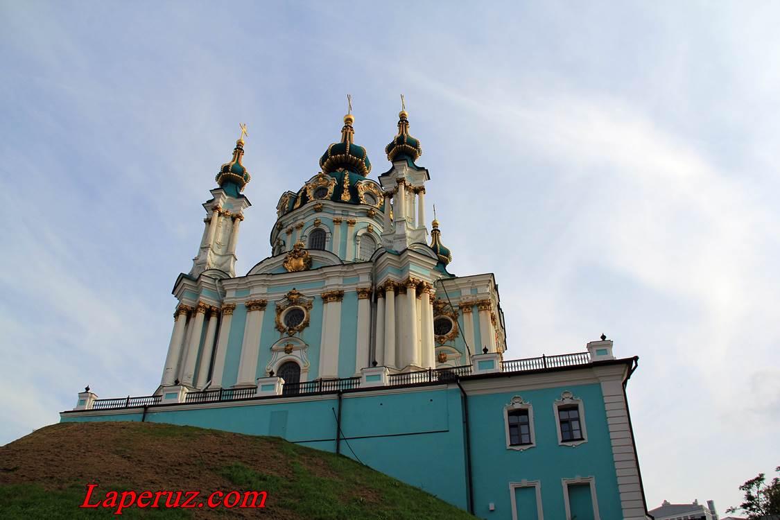 andreevskaya cerkov v kieve