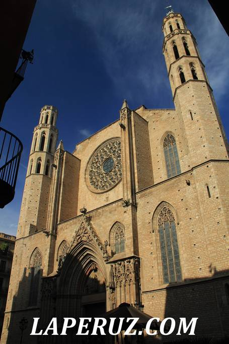 Santa Maria del Mar Barcelona_3