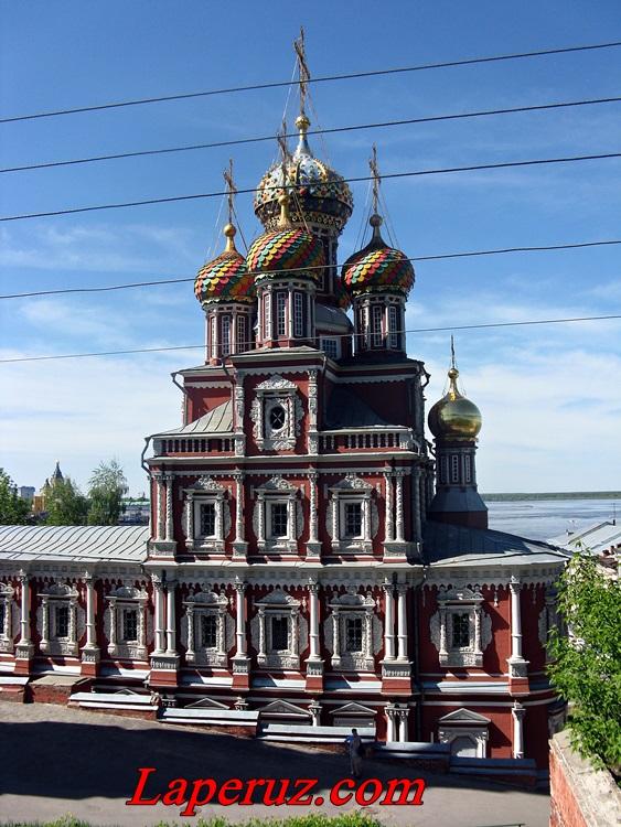 15 млн рублей потратят на реставрацию Рождественской (Строгановской) церкви в Нижнем Новгороде