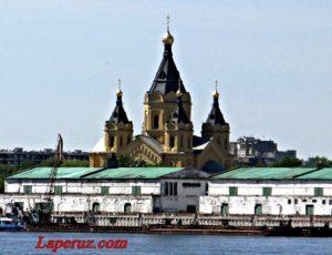 Александро-Невский Новоярмарочный собор — Нижний Новгород, улица Стрелка, 3А
