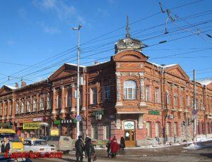 Здание аптеки Фридолина — Саратов, улица Сакко и Ванцетти, 64