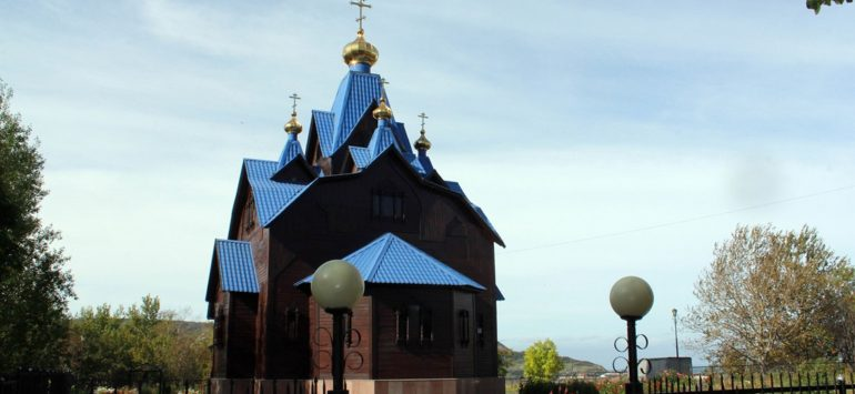 Храм Покрова Божией Матери — Александровск-Сахалинский