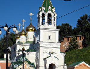 Церковь Иоанна Предтечи на Торгу — Нижний Новгород, улица Рождественская, 1Б