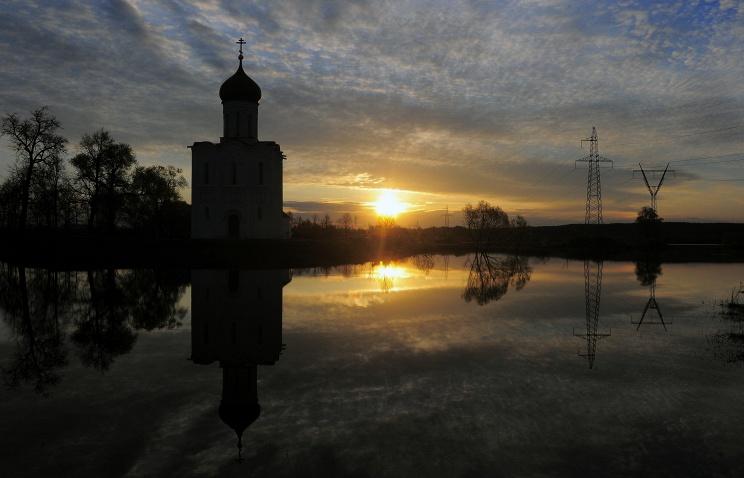 Церковь Покрова на Нерли вновь освятили