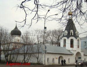 Церковь Михаила и Гавриила Архангелов с Городца — Псков, улица Советская, 18