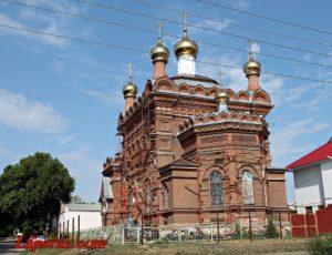 Церковь Воздвижения Креста Господня — Хвалынск, улица Достоевского, 10