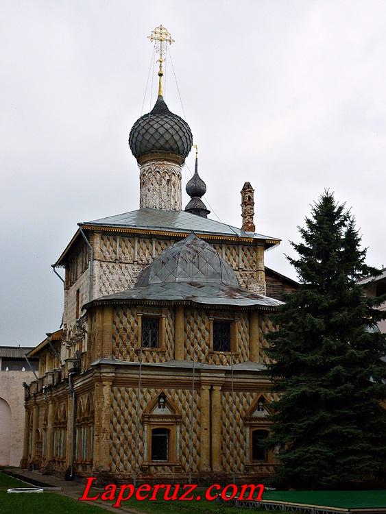 Церковь Одигитрии — Ростовский кремль