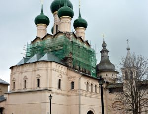 Надвратная церковь Иоанна Богослова — Ростовский кремль