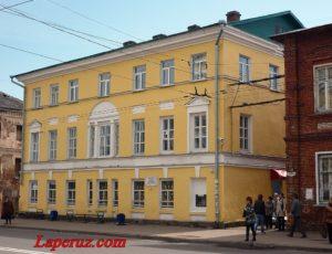 Дом соборного причта — Рыбинск, улица Крестовая, 7