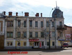 Дом купца А.А. Седова — Рыбинск, улица Крестовая, 23