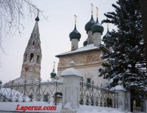 Церковь Богоявления Господня — Нерехта, улица Володарского, 1