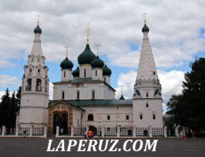 Церковь Ильи Пророка — Ярославль, Советская площадь, 7