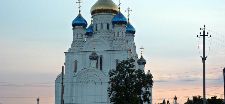 Собор Владимирской иконы Божией Матери — Лиски, площадь Революции, 20