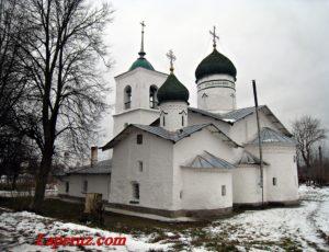 Церковь Троицы Живоначальной (Никольская церковь) — Остров