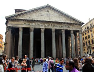 Пантеон (Panteon) — Рим, Piazza della Rotonda