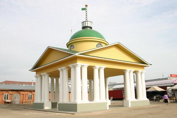 В Шуе после реставрации открыли Мерные весы 1820 года