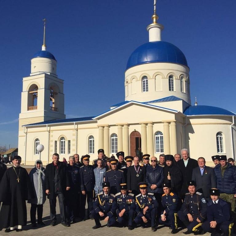 Введенскую церковь отреставрировали в астраханском селе Солодники