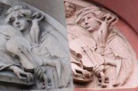 Петербургские градозащитники сообщили об искажении скульптуры после реставрации