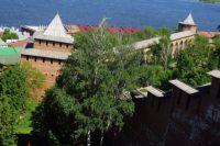 В Нижнем Новгороде закрыли спуск между башнями кремля