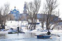 В Астраханской области на месте сгоревшей церкви построили новую