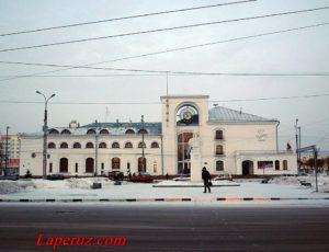 Железнодорожный вокзал — Великий Новгород, улица Октябрьская, 5