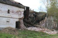 В Вологодской области восстановят обрушившийся корпус монастыря