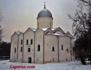 Церковь Иоанна Предтечи на Опоках — Великий Новгород, Ярославово Дворище