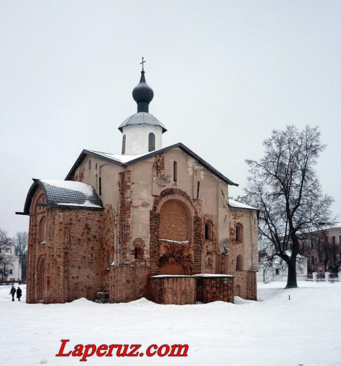 Церковь Параскевы Пятницы на Торгу — Великий Новгород, улица Большая Московская, 5Б