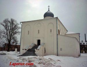 Церковь Успения на Торгу — Великий Новгород, улица Большая Московская, 5А