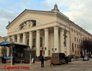 Калужский областной драматический театр имени А.В. Луначарского — Калуга, площадь Театральная, 6