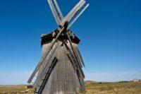 """В """"Аркаиме"""" началась реставрация уникальной ветряной мельницы"""