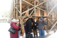 Федеральных экспертов не пустили на разрушающийся памятник