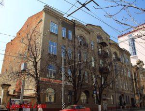 Доходные дома Пташкина — Саратов, улица Советская, 3