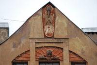 Эксперты проведут проверку дома, с фасада которого сбили Мефистофеля