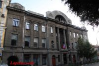 Городской общественный банк (Дворец творчества детей и молодёжи) — Саратов, Театральная площадь, 13