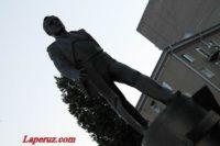 Юрий Гагарин на саратовских улицах