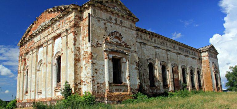 Церковь Покрова Пресвятой Богородицы — село Ключи Саратовской области