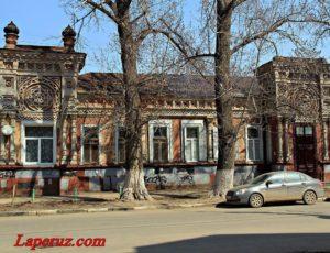 Дом Тилло, здание СУАК — Саратов, улица Сакко и Ванцетти, 40