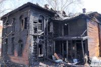 В Вологде сгорел памятник архитектуры XIX века