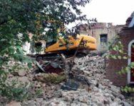 Уфимский памятник архитектуры разбирают на кирпичи