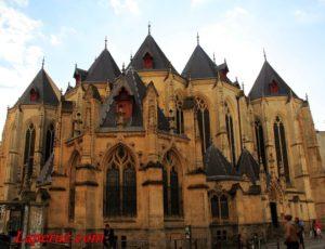 Церковь святого Маврикия (Eglise Saint-Maurice) — Лилль, Rue de Paris