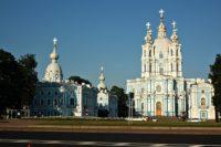 Смольный собор — Санкт-Петербург, площадь Растрелли 1-3