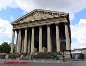 Церковь Мадлен (L'église de la Madeleine) — Париж, Place de la Madeleine