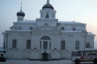 Богоявленская церковь Николаевского женского монастыря — Арзамас, Соборная площадь