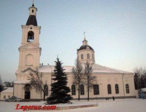 Церковь Живоначального источника Пресвятой Богородицы — Арзамас, Соборная площадь, 20