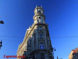 Доходный дом Ш.З. Иоффа («Пять углов») — Санкт-Петербург, Загородный проспект, 11 / улица Рубинштейна, 40