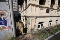 Екатеринбургский памятник архитектуры пострадал от пожара