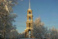В Тульской области восстанавливают старинную колокольню